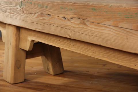 Sarreid Ltd. - Old Joist Beam Bench - 29850