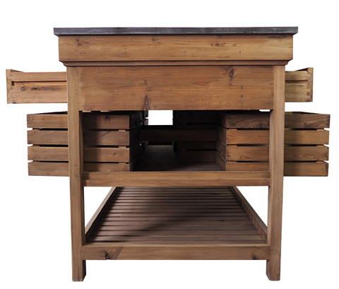 Image of Crate Kitchen Island