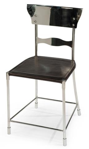 Sarreid Ltd. - Steel Dining Stool - 29905
