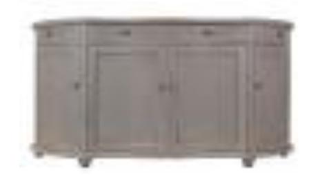 Sarreid Ltd. - Swiss Bowfront Sideboard - 30331
