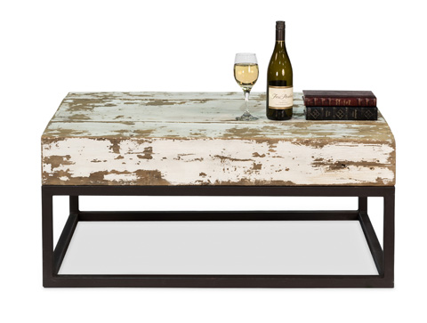 Sarreid Ltd. - Beam Coffee Table - 30494