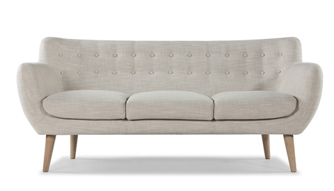 Sarreid Ltd. - Retro Sofa - S461-3AS