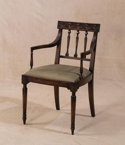 Sarreid Ltd. - George III Chair - V22633