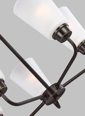 Sea Gull Lighting - Five Light Chandelier - 3115205-782