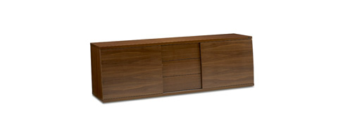 Image of Long Three Drawer TV Cabinet