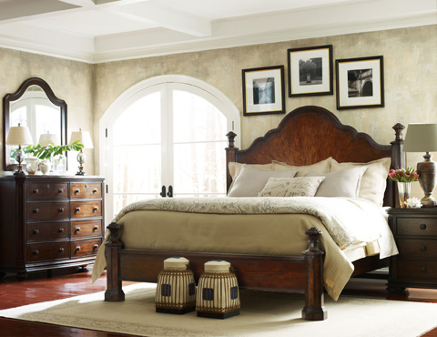 Stanley - Portfolio - Mansion King Bed - 128-13-45