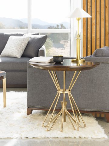 Stanley Furniture - Milo Round Lamp Table - 436-15-14