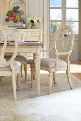 Stanley - Portfolio - Dining Table in Vintage White - 007-21-36