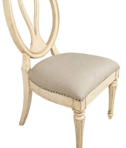 Stanley - Portfolio - Side Chair in Vintage White - 007-21-60