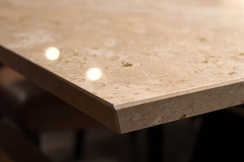 Stone International - Pedestal Dining Table - 9986/M