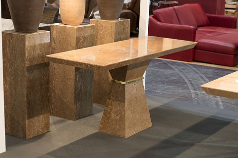 Stone International - Clepsy Plus Stone Console Table - 9884
