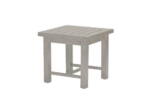 Summer Classics - Club Aluminum End Table - 3336
