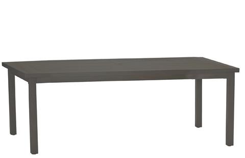 Summer Classics - Club Aluminum Rectangular Dining Table - 3342