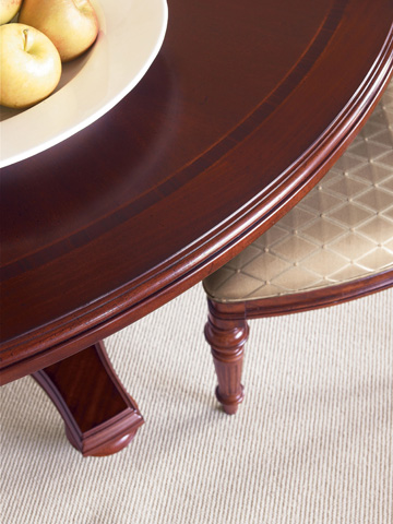Thomasville Furniture - Scroll Back Side Chair - 43421-841