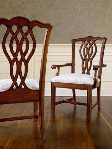 Thomasville Furniture - Ribbon Back Arm Chair - 46821-822