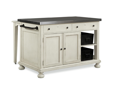 Universal Furniture - River House Kitchen Island - 394644