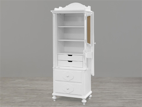 Universal - Smart Stuff - Black and White Armoire - 437A014