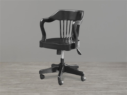 Universal - Smart Stuff - Black and White Young Banker's Chair - 437B071