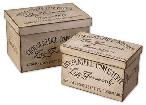 Uttermost Company - Chocolaterie Decorative Boxes - 19300
