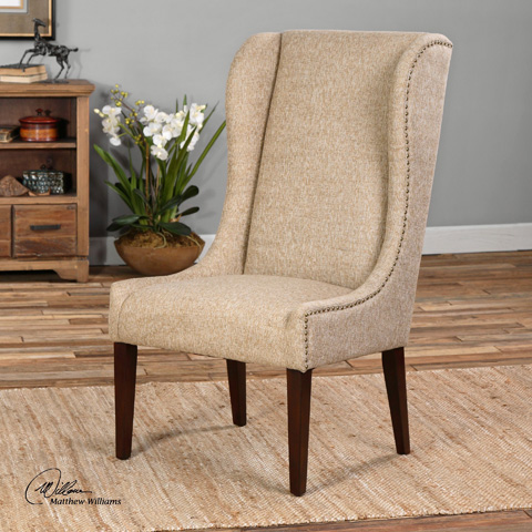 Uttermost Company - Kriston Armless Chair - 23214
