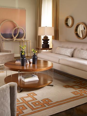 Vanguard Furniture - Dell Rey Lamp Table - P402L-MU
