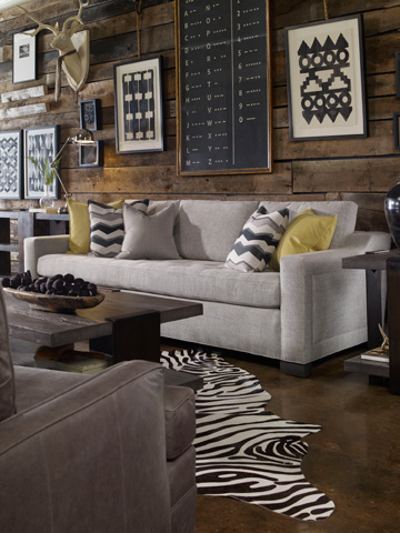 Vanguard Furniture - Aries Rectangular Cocktail Table - P435CR-AT