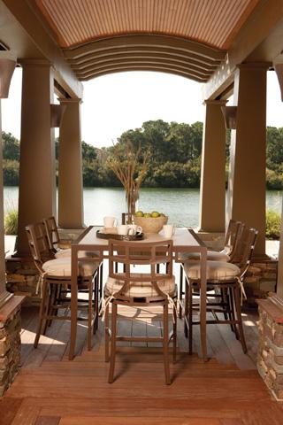 Lane Venture - Redington Counter Height Dining Table - 9209-65
