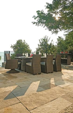 Lane Venture - Leeward Dining Table - 9786-95