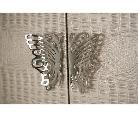 Michael Amini - Upholstered Swivel Lingerie Chest - 03062-09