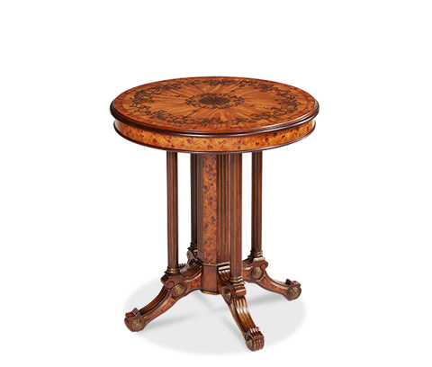 Michael Amini - Round Accent Table - ACF-ACT-LXNG-112