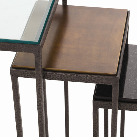 Arteriors Imports Trading Co. - Set of Knight Small Accent Tables - 2355