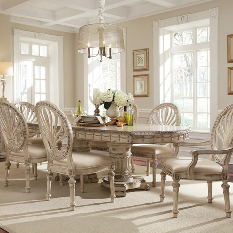 Caracole - Empire II Double Pedestal Dining Table - 3062-936
