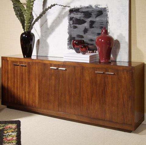 Century Furniture - Credenza with Three Cabinets - 849-403