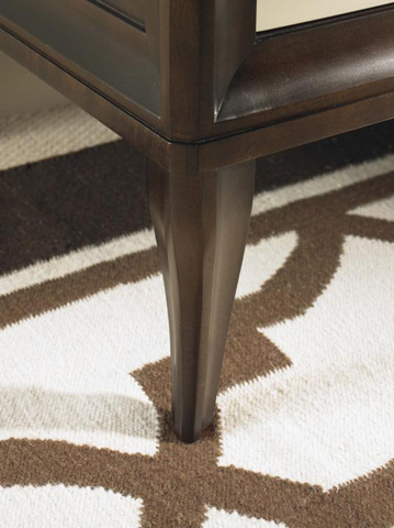 Century Furniture - Three Drawer Bachelor Chest - 339-204