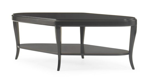 Century Furniture - Grasset Cocktail Table with Shelf - 419-603