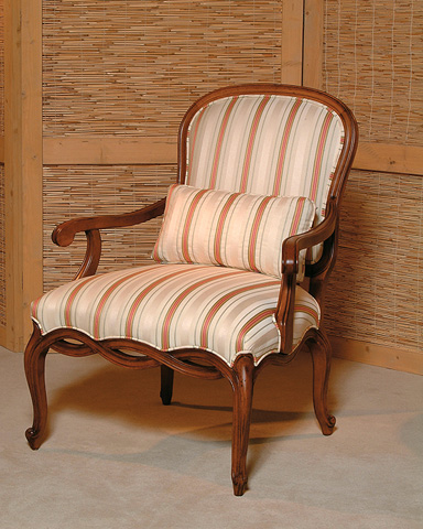 Century Furniture - Carved French Chair - 3568