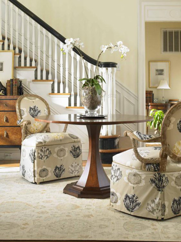Century Furniture - Maire Louise Round Dining Table - 599-305