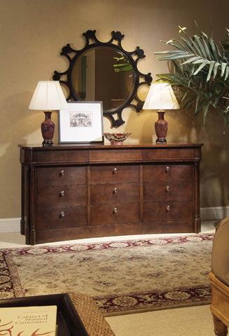 Century Furniture - Round Mirror - 779-233