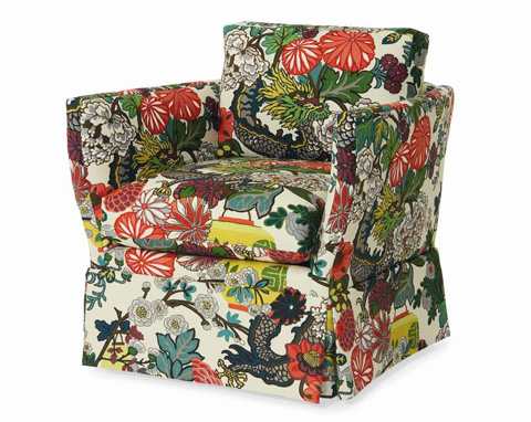 Century Furniture - Oasis Skirted Chair - ESN259-6SK