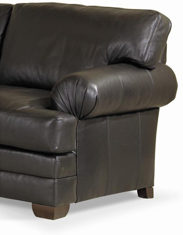 Century Furniture - Leatherstone Apartment Sofa - LR-7600-3