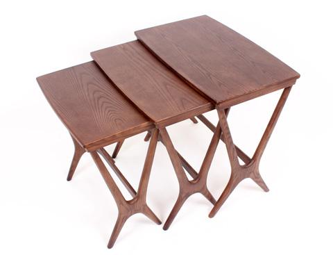 Control Brand - Hein Nesting Table - FET7339WALNUT