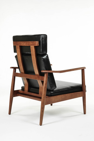 Control Brand - Aalborg High Back Chair - FYC939BLK