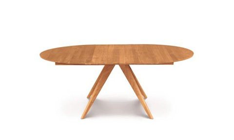 Copeland Furniture - Catalina Round Extension Table - Cherry - 6-CRE-54