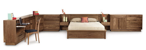 Copeland Furniture - Moduluxe Corner Case - 4-MOD-87
