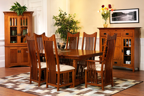 Country View Woodworking, Ltd - Dining Table - 22-148724