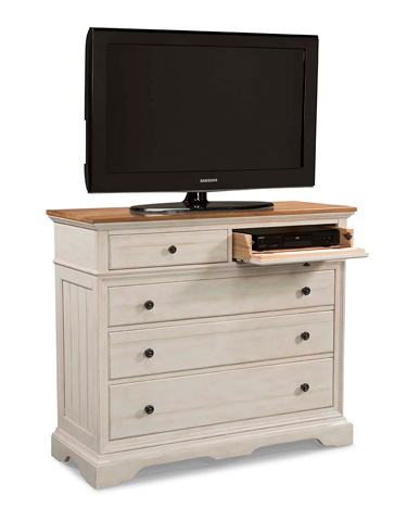 Cresent Fine Furniture - Cottage Small Media Dresser - 201-101