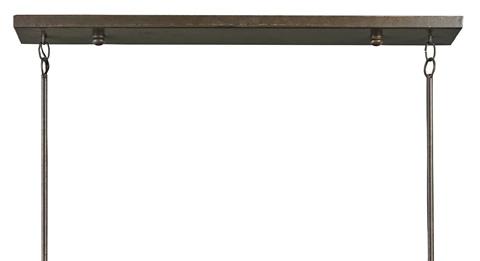 Currey & Company - Vernier Rectangular Chandelier - 9284