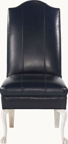 Drexel Heritage - Elaine Leather Side Chair - L538-CH