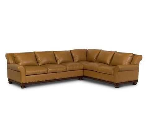 Elite Leather Company - Echo Park Sectional - 28029AL-80/28029AR-CH
