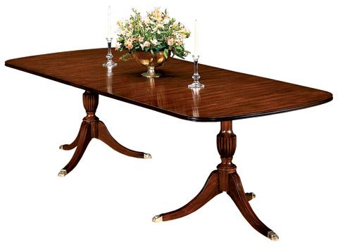 Henkel-Harris - Double Pedestal Dining Table - 2208